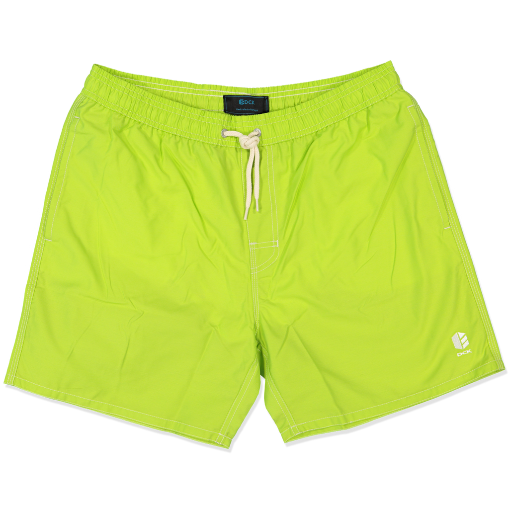 Lime Boom short leg Swim Shorts