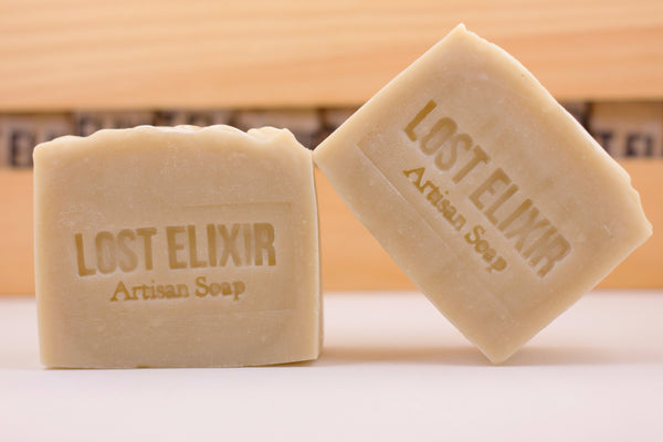 Peppermint & Eucalyptus, All Natural Soap - Lost Elixir