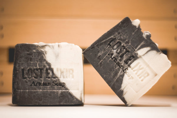 Activated Charcoal, All Natural Soap - Lost Elixir
