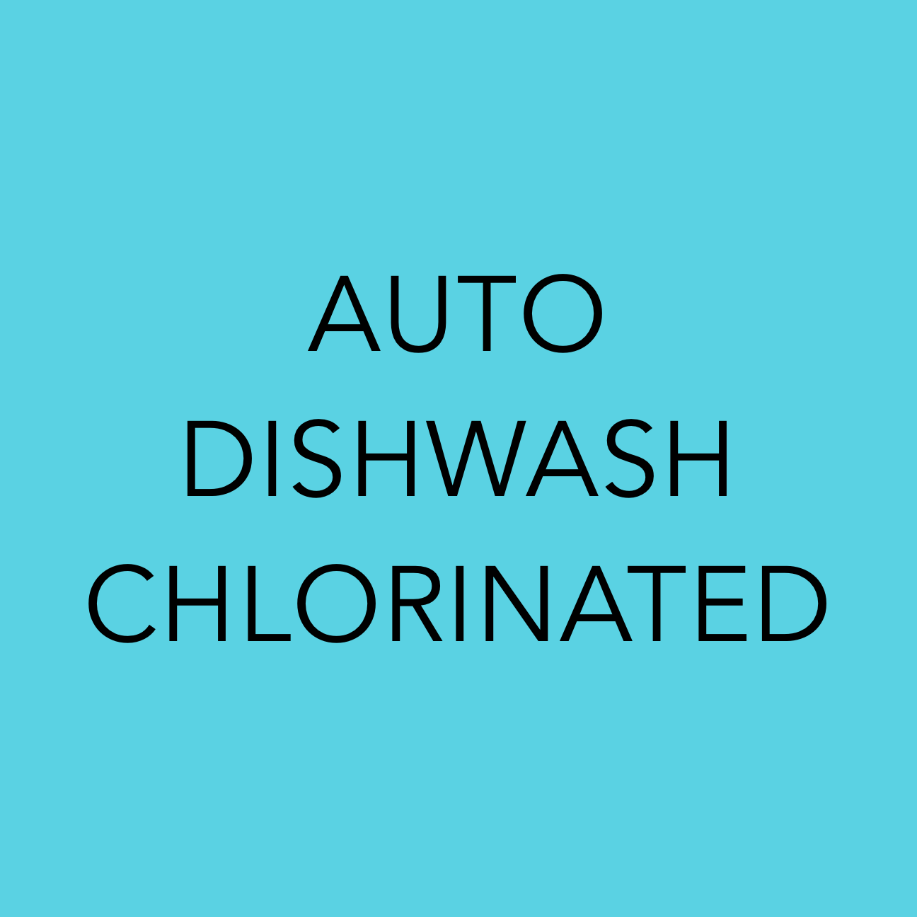 Auto Dishwash Chlorinated