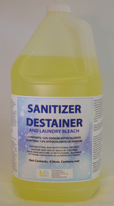 Sanitizer-Destainer