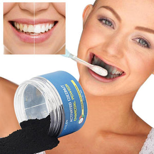Charcoal Activated Coconut Toothpaste Whitening Powder