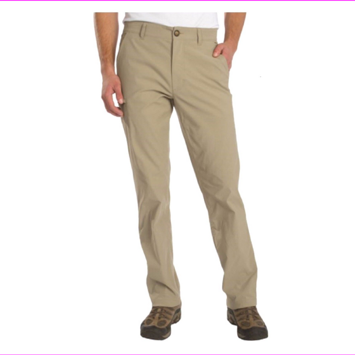 UB Tech Mens Classic Fit Comfort Waist Stretch Chino Pants