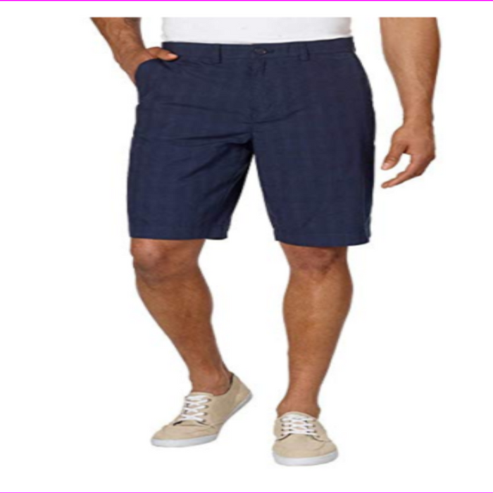 Tommy Hilfiger Men's Flat Front Classic Fit Chino Short