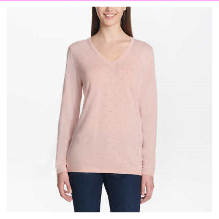 DKNY Jeans Ladies' Embellished Sweater