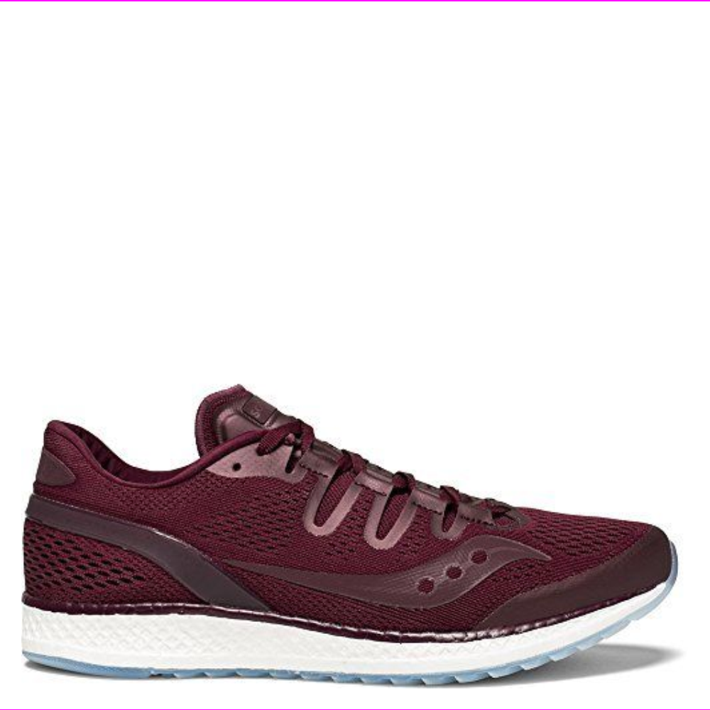 Saucony Freedom ISO Unisex Road Running Shoes Burgundy