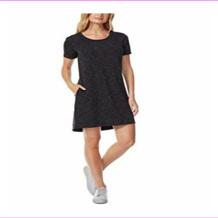32 Degrees Cool Womens Short Sleeve Relaxed Fit Pullover Dress