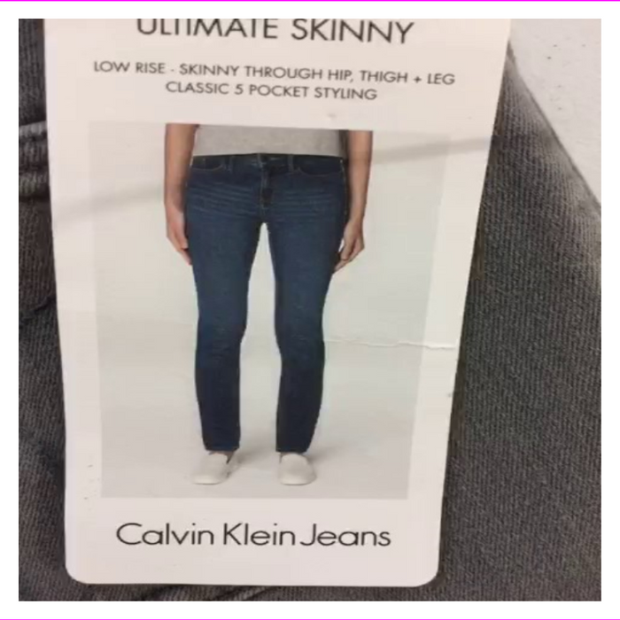 Calvin Klein Jeans Women's Denim Skinny Fit Jean