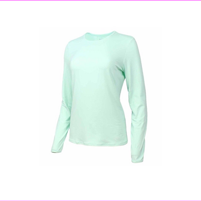 Hang Ten Women's Long Sleeve Rashguard with UPF 50
