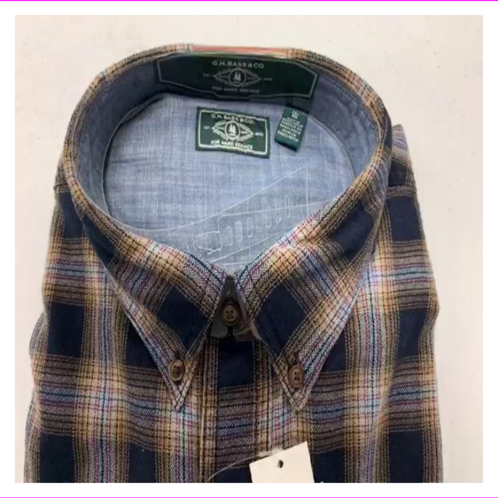G. H. BASS & CO. MEN'S FIRESIDE FLANNEL SHIRT