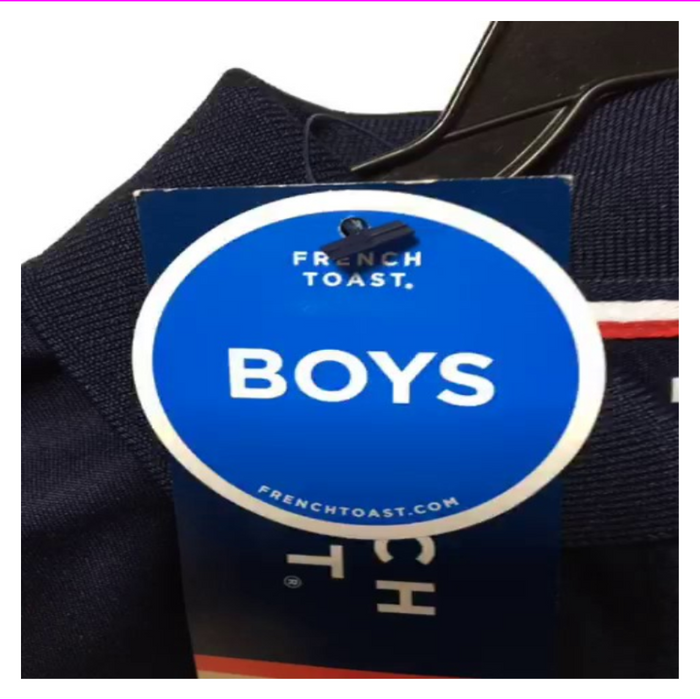 French Toast Boy's  2 Packs Regular Shirt