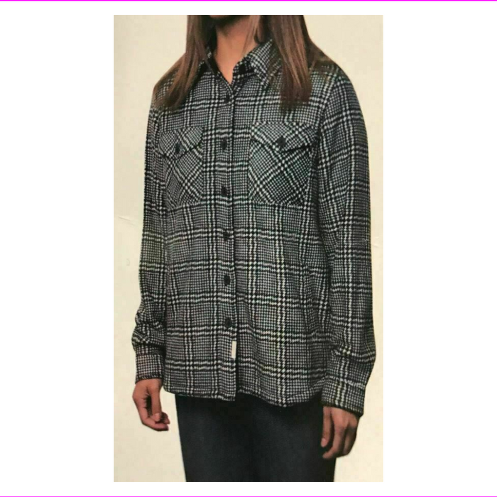 Soho Threads Women Linedhooded Flannel