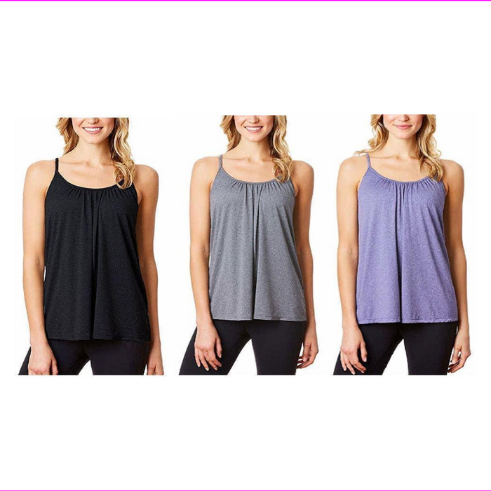 32 Degrees Cool Women's Camisole With Built In Bra