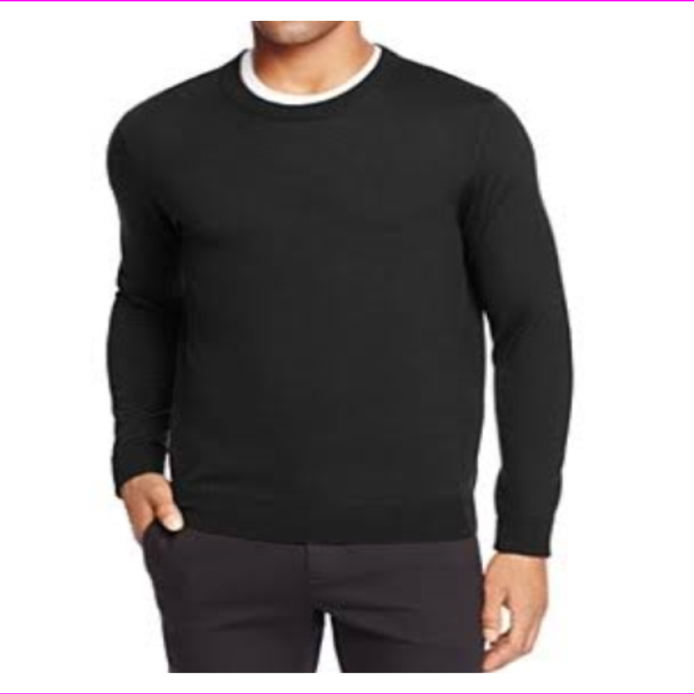 The Men's Store Bloomingdale's Wool Crew Neck Sweater