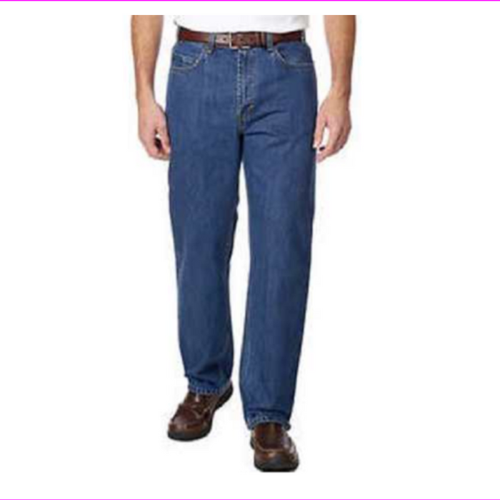 Kirkland Signature Men's 5-Pocket Relaxed Fit Jeans
