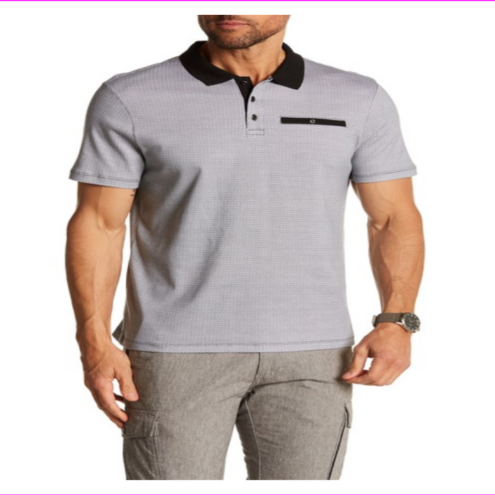 English Laundry Men's Regular Fit Polo Shirt