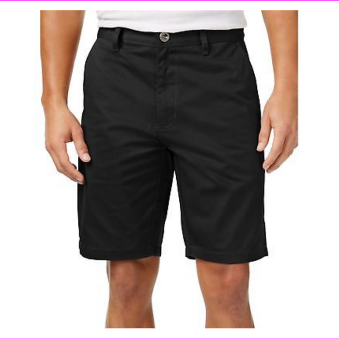 RVCA Mens Weekender Casual Chino Shorts Black 34