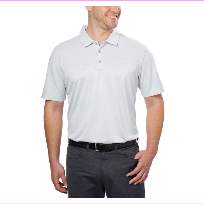 Bolle Mens Colorblock Wicking Golf Performance Polo
