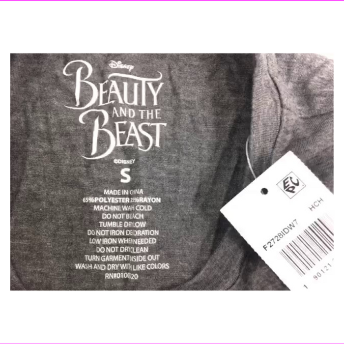 Mighty Fine Juniors Beauty The Beast Gr Heather