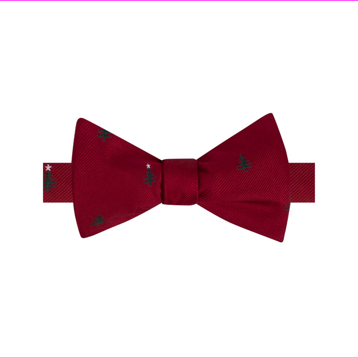 Tommy Hilfiger Men's Tree  Conversational Bow Tie