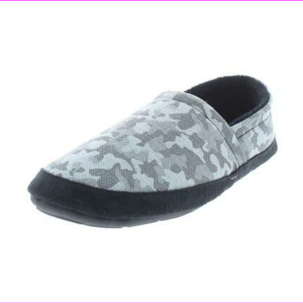 Bar III Mens Ashercam Slip-On Slippers