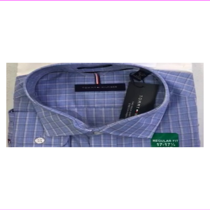 Tommy Hilfiger Mens Regular Fit Stretch Shirt