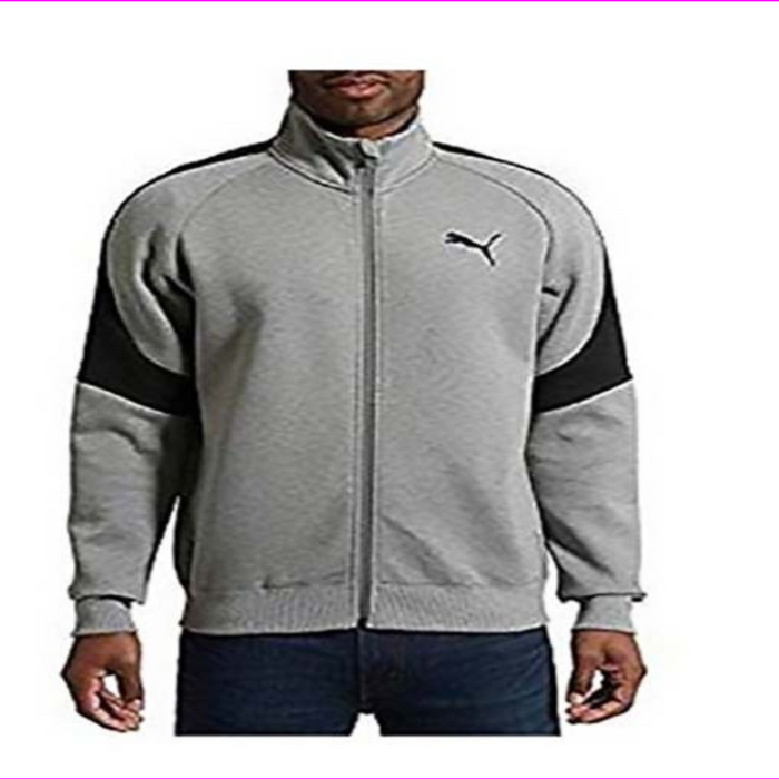 Puma Men's Evostripe Core Full Zip Track Jacket , Side Pockets