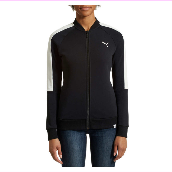 Puma Women's Ladies' French Terry Zpper Pull Jacket