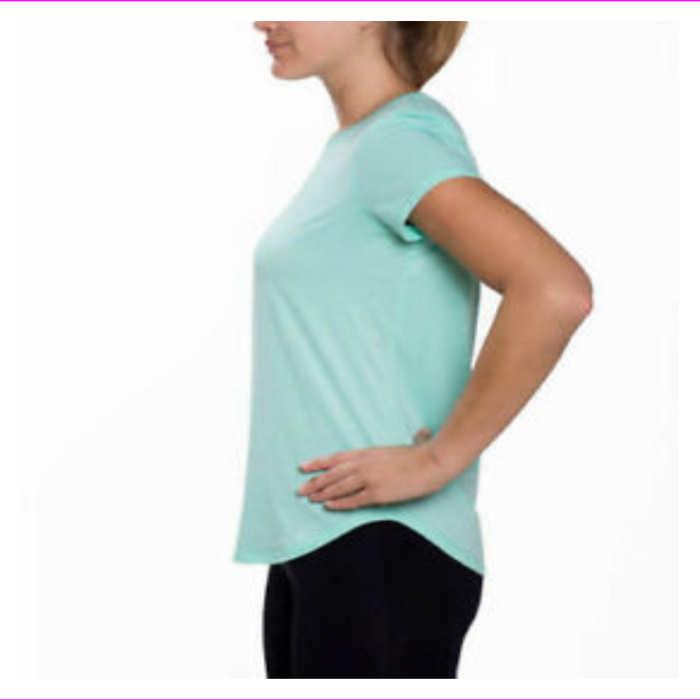 Kirkland Signature Women Active Yoga Tee Shirt Top