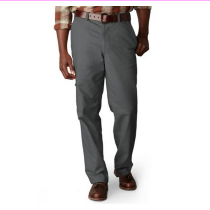 Dockers Men's Comfort Cargo D3 Classic Fit Flat Front Pants