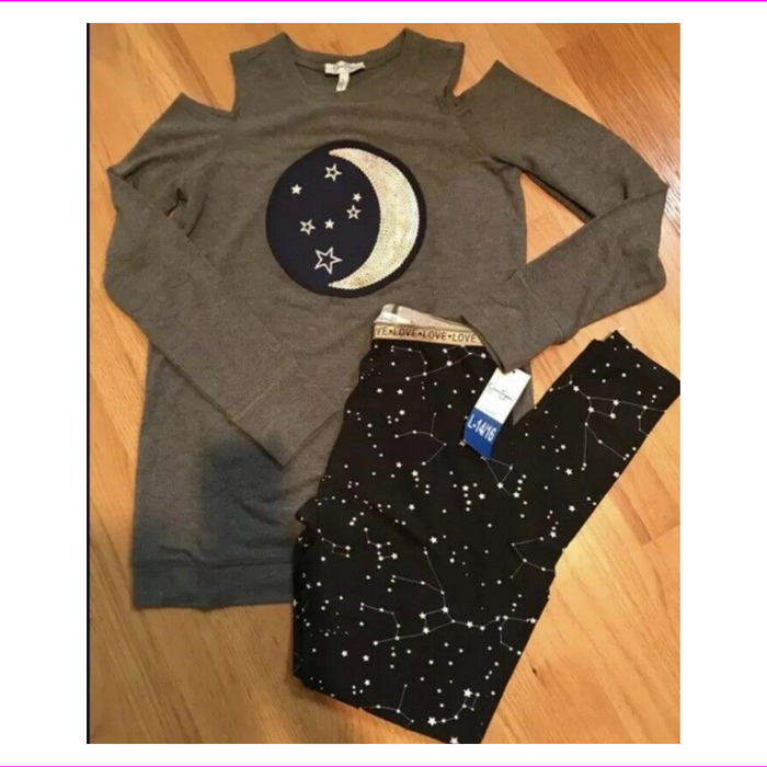 jessica simpson Girls 2pc constellation star set