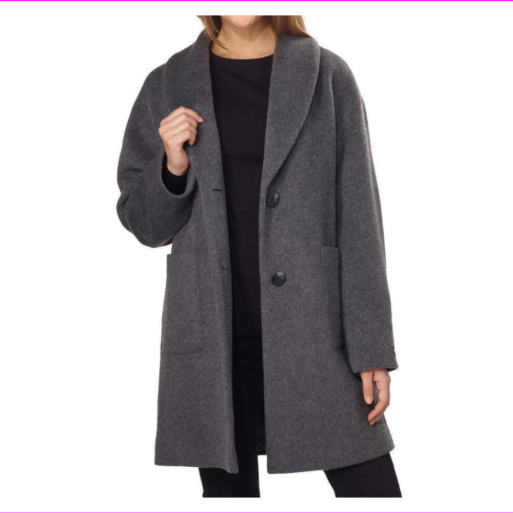 Derek Lam IO Crosby Women's Oversized Wool Coat
