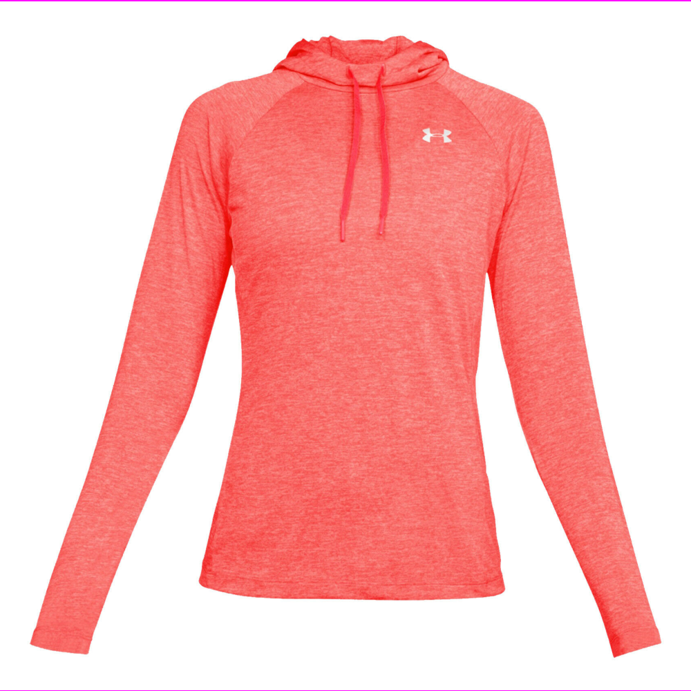 NEW Under Armour Womens UA Tech Twist 2.0 Hoodie Hooded Top Pullover