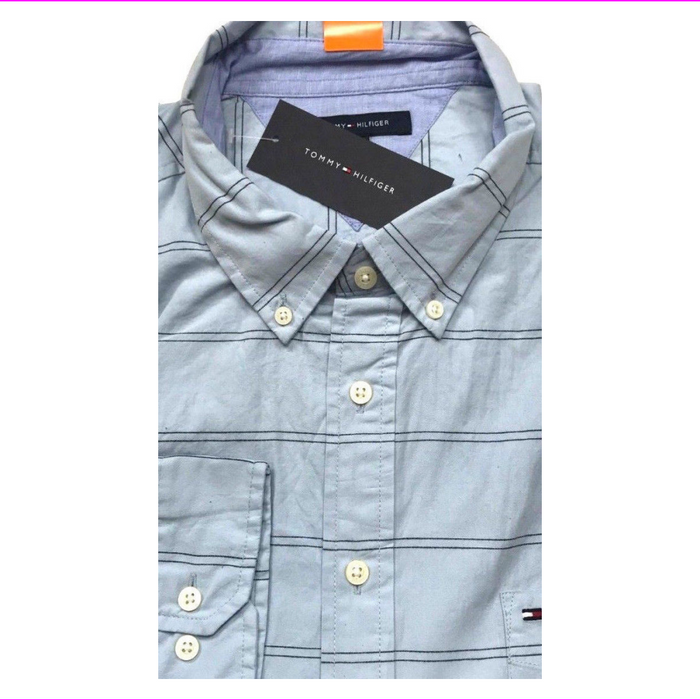 Tommy Hilfiger Classic Fit Long Sleeve Woven Shirt