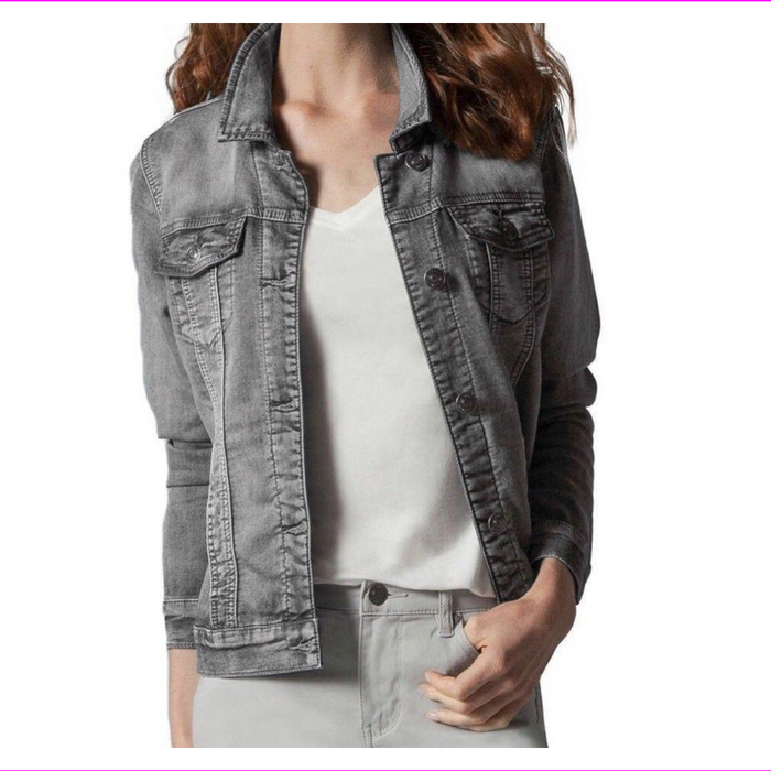Buffalo David Bitton Ladies' Stretch Knit Denim Jacket