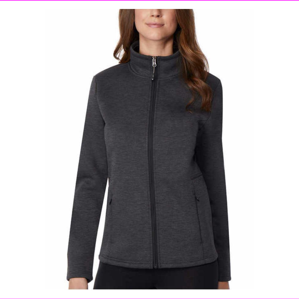 32 DEGREES HEAT WOMENS TECH FLEECE FULL ZIP JACKET