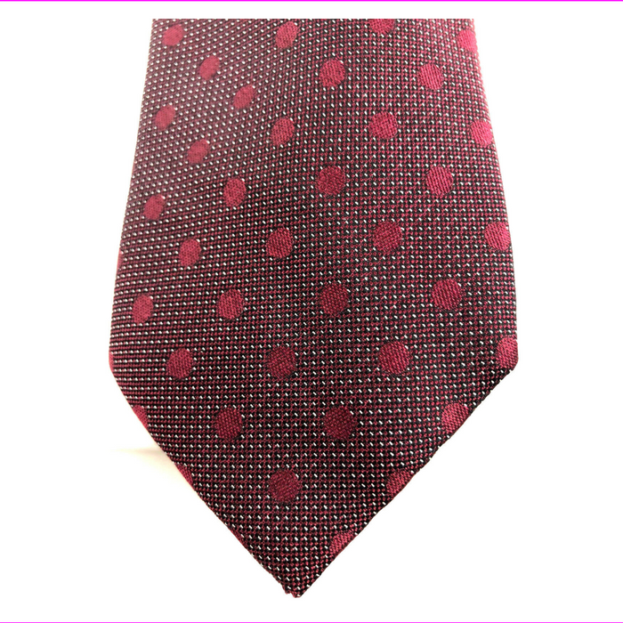 Ryan Seacrest Distinction Men's Evans Dot Silk Tie