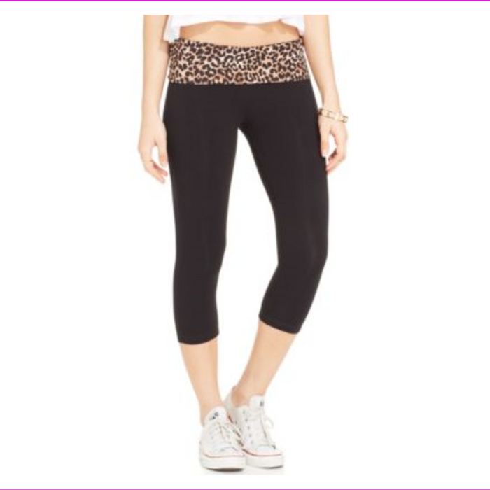 Material Girl Juniors Active Palm Fever Cro Leopard