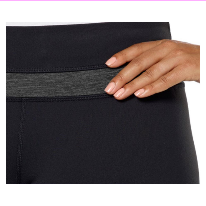 Kirkland Signature Women's Fabric Wicks Moisture Hidden Key Pocket Yoga Pants