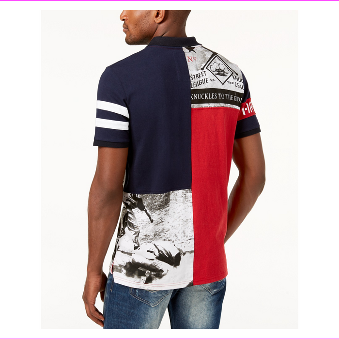 Heritage America Men's Graphic-Print Polo