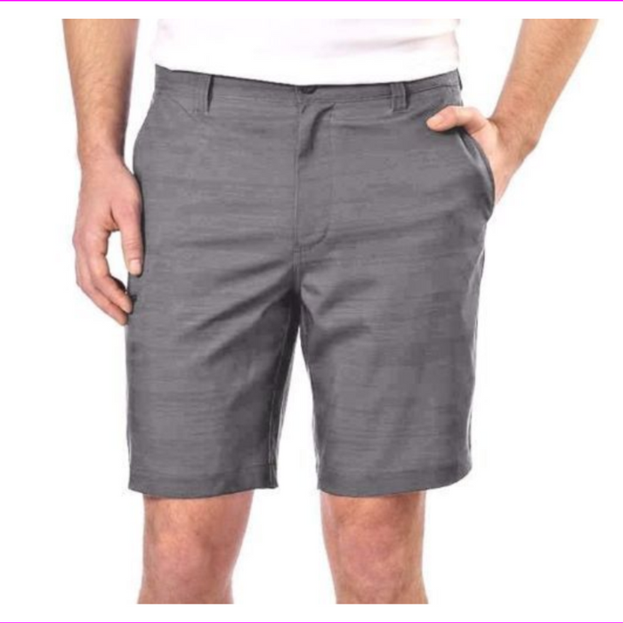 Hawke & Co. Men's Stretch Woven Cargo Short Flex Waist