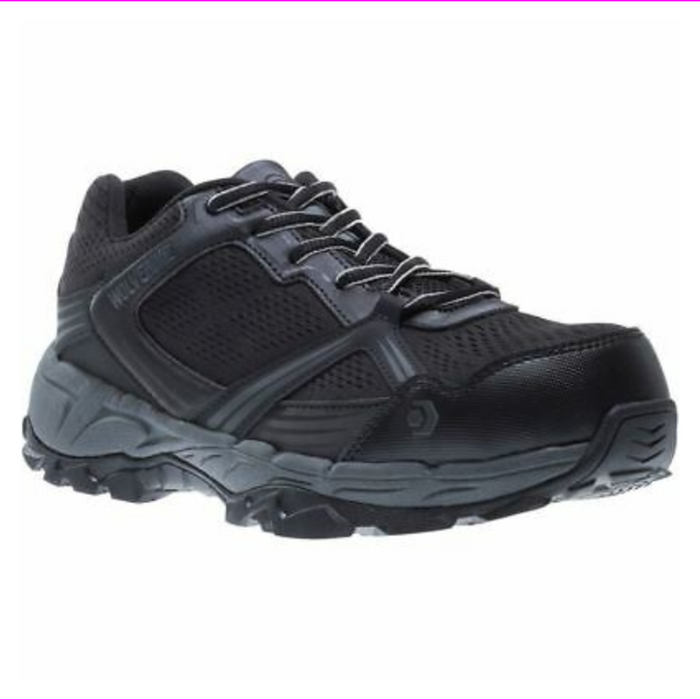 Wolverine Womens Rush ESD CarbonMax Safety Toe Shoes W10670 Black