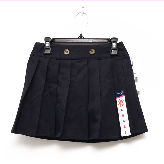 French Toast Girls' Front Button Skirt
