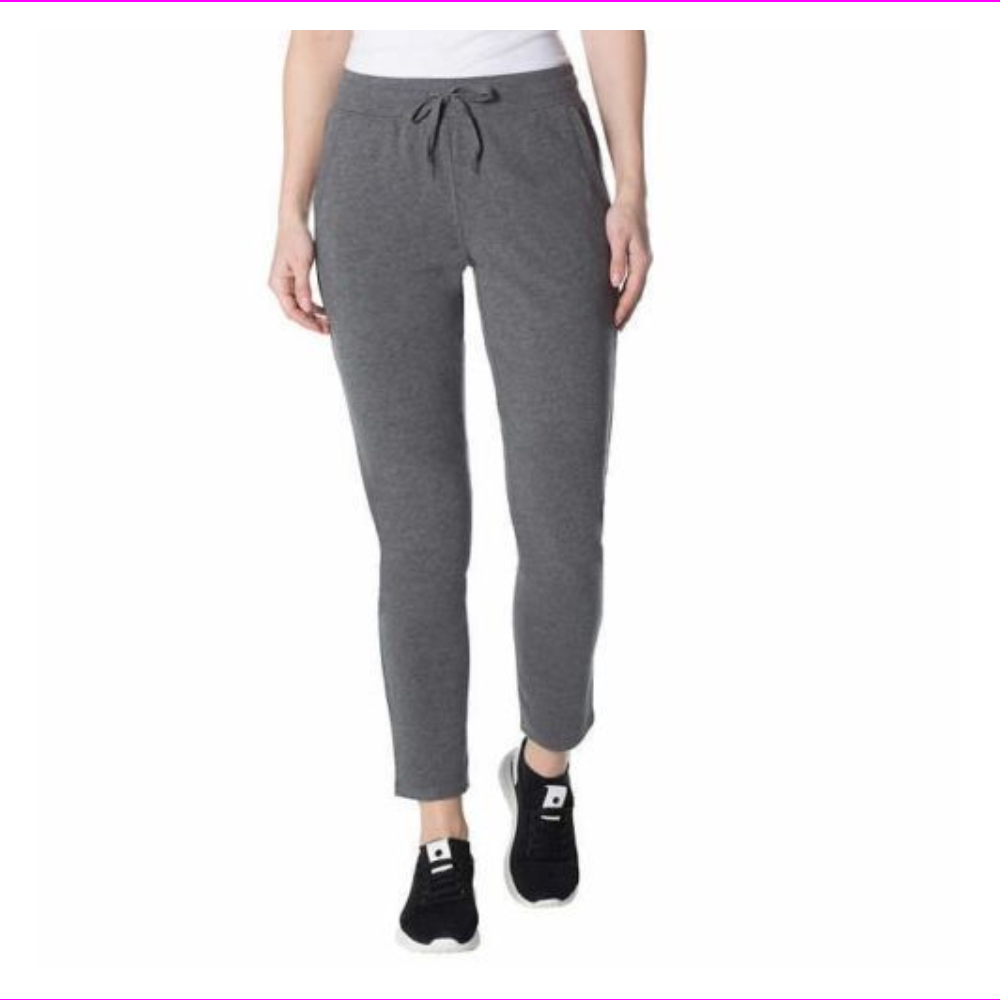 Champion Ladies' French Terry Tapered Leg Jogger Pant Charcoal L