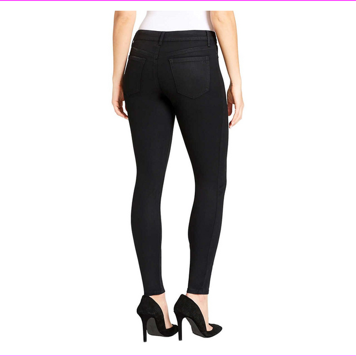 Jessica Simpson SUPER SKINNY Stretch Mid Rise Coated Demin