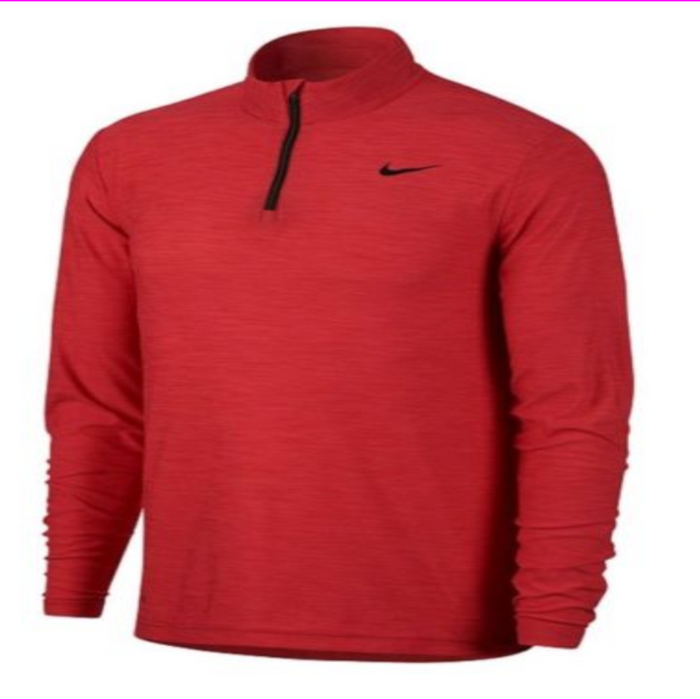 NIKE DRY 1/4 ZIP PULLOVER TRAINING TOP DRI-FIT