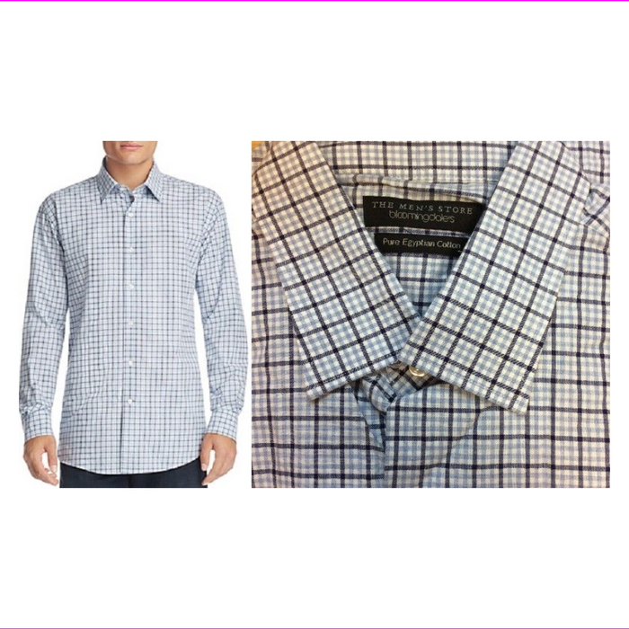 Bloomingdale's The Mens Store Classic Button Down Shirt