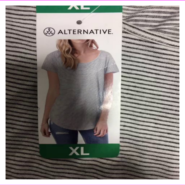 Alternative Women's Shirt T-Shirt  Soft Short Sleeve