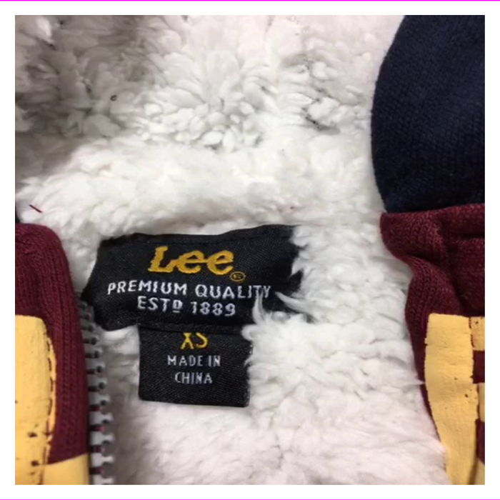Lee Boy's Rib knit cuffs and hem 2 hand pockets hoodie jacket