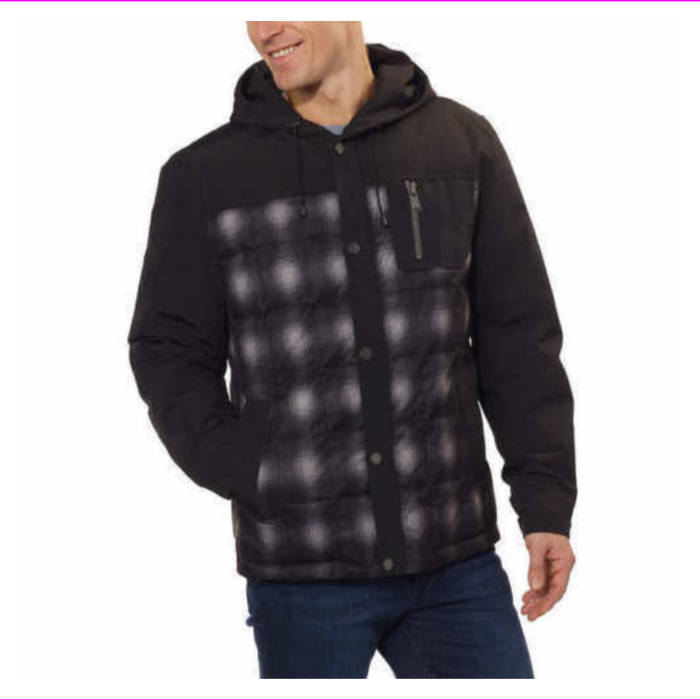 Pendleton Men's Fill Down Jacket Coat with Hood